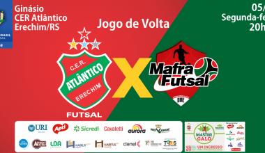 Convite Atlântico X Mafra - Copa do Brasil SITE