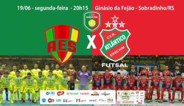 site- AES SOBRADINHO x ATLÂNTICO - Liga Gaúcha