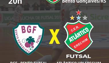 CONVITE  JOGO 11 JULHO - Bento X Atlãntico - Liga Gaúcha FINAL