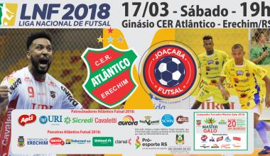 2018.03.17 - LNF - SITE Atlântico X Joaçaba - final
