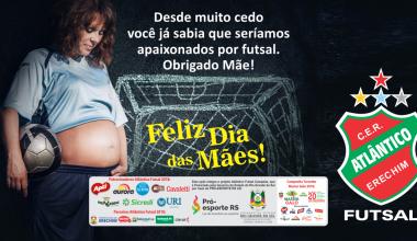 Atlântico - Post Mensagem Dia das Mães 2018 site