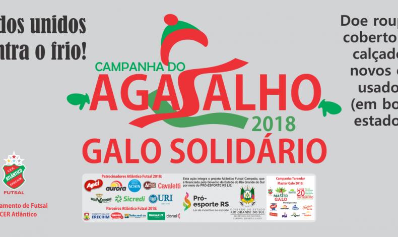Site - Galo Solidário - Agasalho 2018